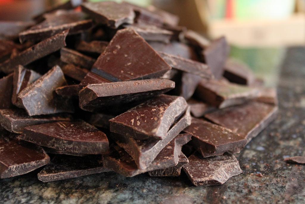Chocolade productie